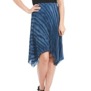 H by Halston A-Line Sunray Pleated Skirt